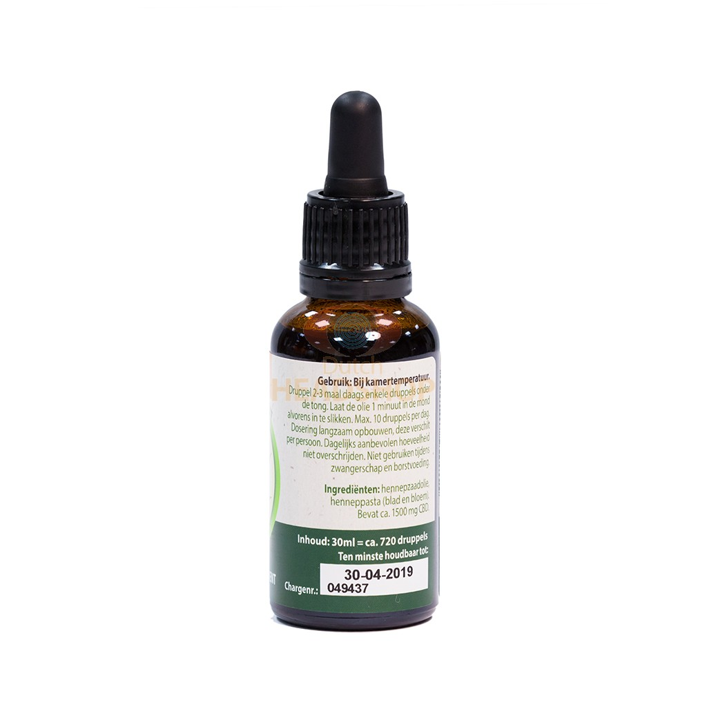 CBD Olie (Jacob Hooy) 5%