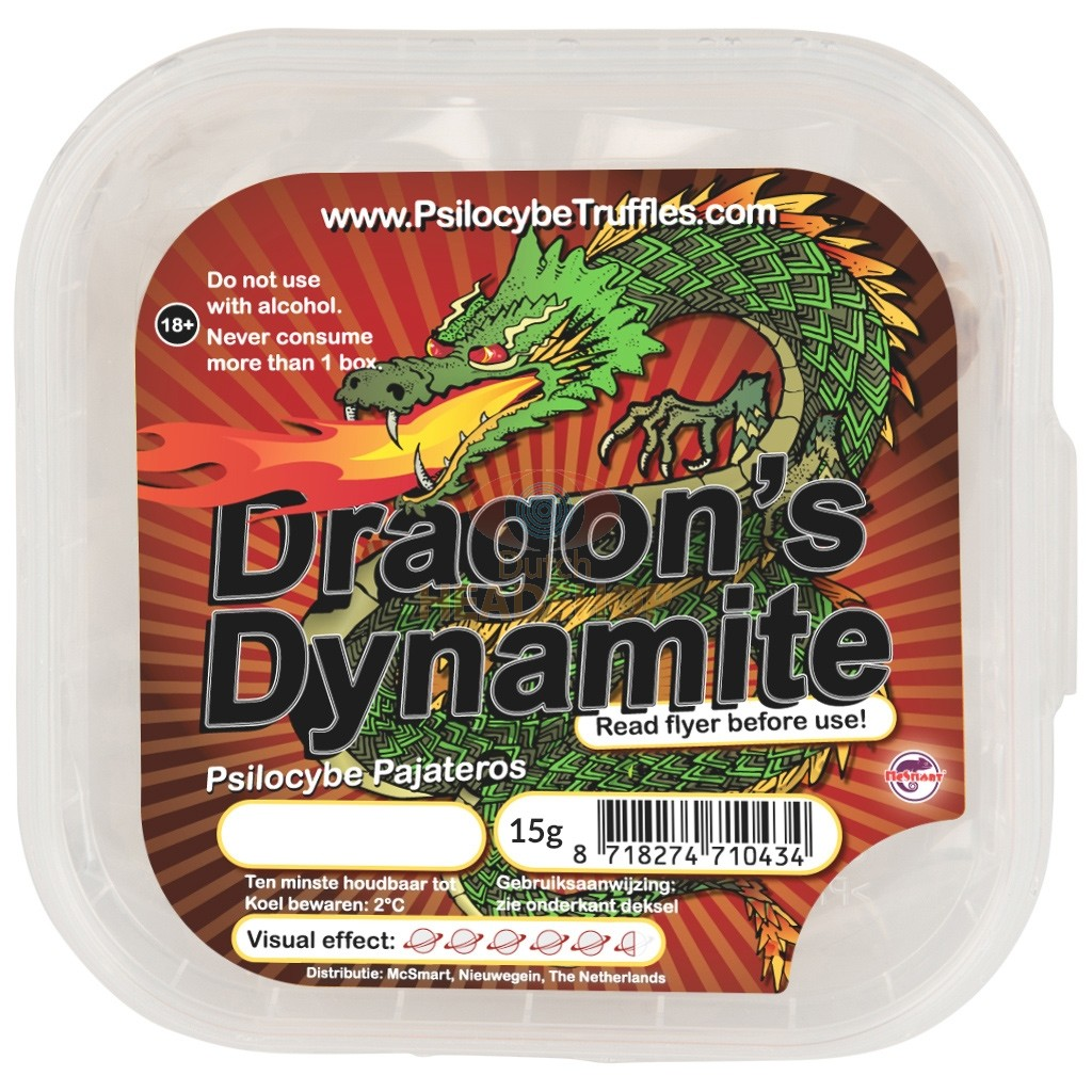 Magic Truffels Dragon's Dynamite 15 gram