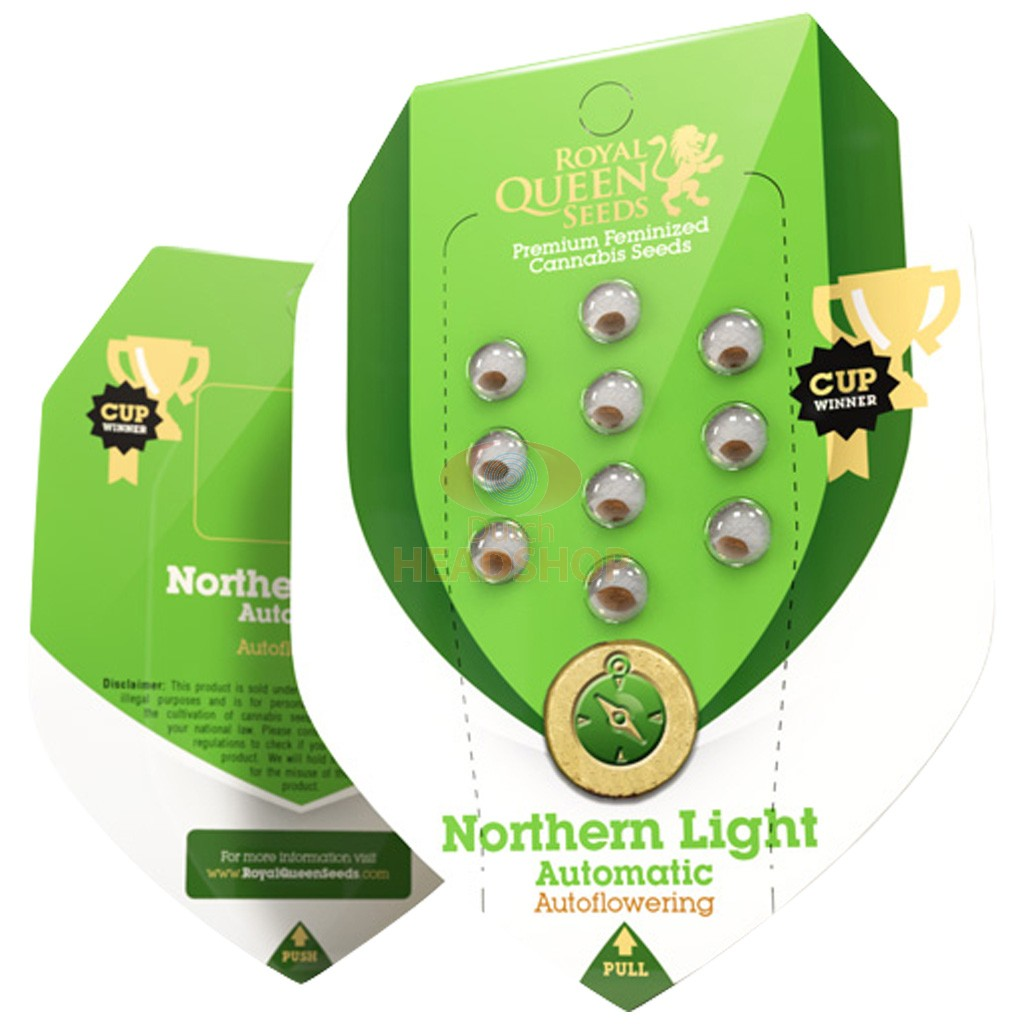 Northern Light Automatic (Royal Queen Seeds) 5 zaden