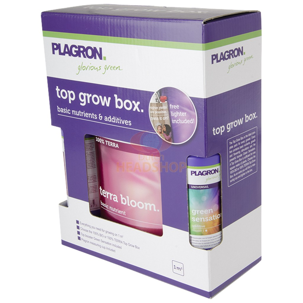 Box Top Grow 100% Terra Plagron