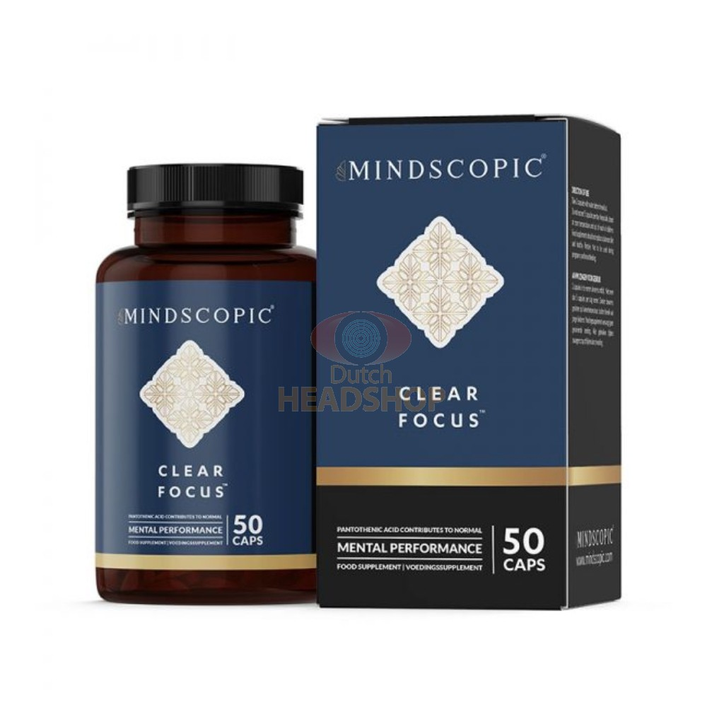 Clear Focus Nootropics (Mindscopic) 50 Capsules