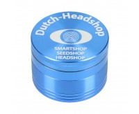 Aluminium Grinder 4-delig (Dutch-Headshop) 76 mm