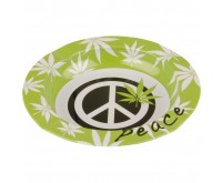 Metalen Asbak - Peace (130 mm)