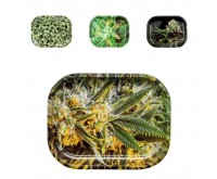 Rolling Trays Metaal (V-Syndicate) 14 x 18 cm