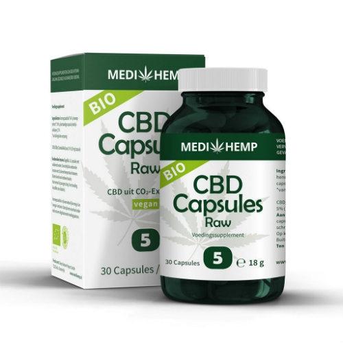 CBD Capsules Raw Medihemp Dutch Headshop