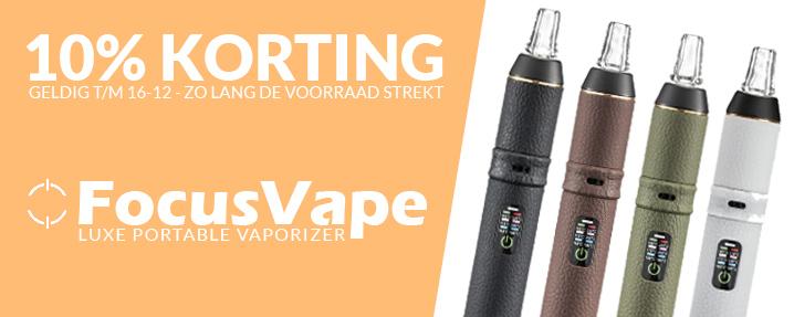 Aanbieding FocusVape Portable Vaporizer