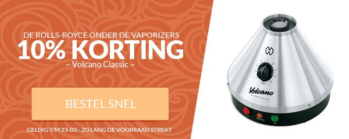 Aanbieding Volcano Vaporizer Classic