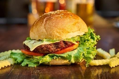 Magic Truffels Hamburger